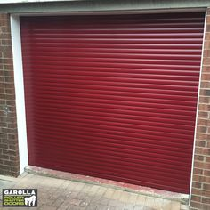 If you're searching for 'cheap garage doors', any of our best garage doors are ideal! Click the link below to get insulated roller garage doors fitted. Red Garage Door, Cheap Garage Doors, Single Garage Door, Best Garage Doors, Garage Door Styles, Garage Door Makeover, Garage Walls, Roller Doors, Roller Shutters