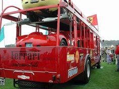 Ferrari Race Transporter by Brimen, via Flickr