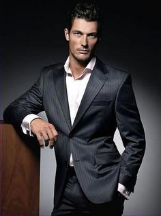 """""""Julia couldn't concentrate when Gabriel was around. Her voice grew soft when she told him why. Something about blue eyes and sexual pyrotechnics and a chemistry that vibrated in the air between them, all of which kept her from focusing on the tasks at hand. Gabriel was extremely flattered."""" #mensfashionwork"""