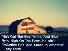 Made in America -Toby Keith