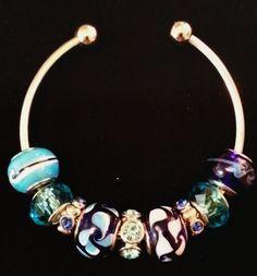 Jeweled Bracelet by IDIG on Etsy