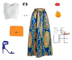 """""""The sweet life"""" by mariagraziatrotta ❤ liked on Polyvore featuring WithChic, Chicwish, Camomilla, Stuart Weitzman, Erickson Beamon, Lime Crime and Hermès"""