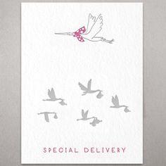 anaïs - baby cards (baby girl letterpress card) letterpress printed. Glückwunschkarte Baby Mädchen