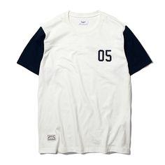 [에스피오나지 - Raid 2 Tone S/S T-shirt Ivory]