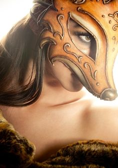 Fox masquerade mask