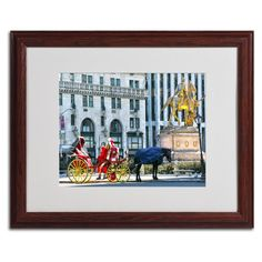 CATeyes 'Central Park 2' Framed Matted Wall Art