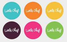Little Chef stickers