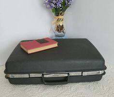 Vintage Samsonite Luggage Gray Samsonite Suitcase Weekender