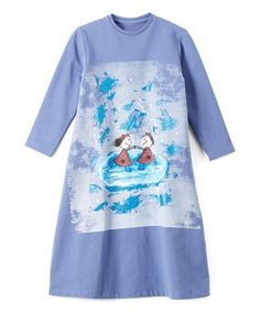 Shadow Ice Skaters Shift Dress - Toddler & Girls #zulily #zulilyfinds