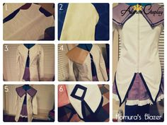 Akemi Homura Cosplay Tutorial: How to make Akemi Homura's Costume