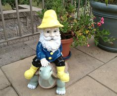 How to Fix Your Garden Gnome (and Other Garden Decor) - Pretty Handy Girl