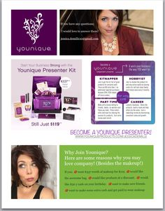 Www.youniqueproducts.com/jessicademille