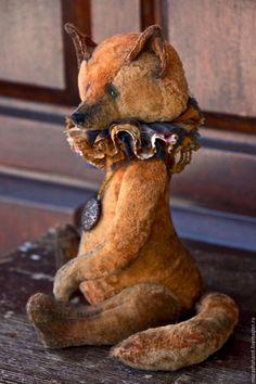 Мишки Тедди ручной работы. Ярмарка Мастеров - ручная работа. Купить Firefox 30 см во весь рост. Handmade. подарок