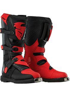 BLITZ BOOT BLACK/RED