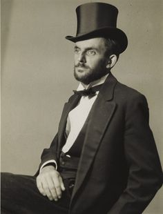 Ansel Adams, Self Portrait, c. 1930 i had never seen his picture before.