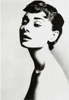 Audrey Hepburn por Richard Avedon