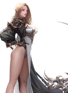 ArtStation - Elf2, Daeho Cha
