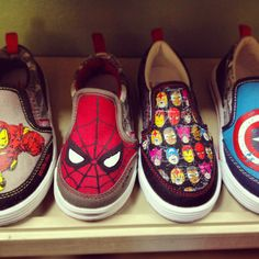 Marvel! At Shoe Tree kids shoe store follow us on Instagram @shoetreekids and on Facebook