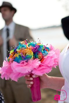Awesome Rainbow Bouquet - Unique and Gorge!!!