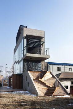 Sinjinmal Building, STUDIO GAON