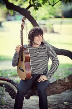 """Reid Perry smiles while shooting The Band Perry's music video """"Postcards From Paris.""""  I love this picture of Reid!!! :)"""
