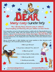 Beverly Cleary Character Party