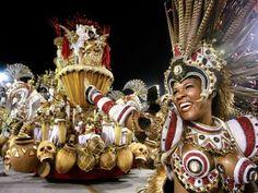 Carnaval Revelers, Rio de Janeiro