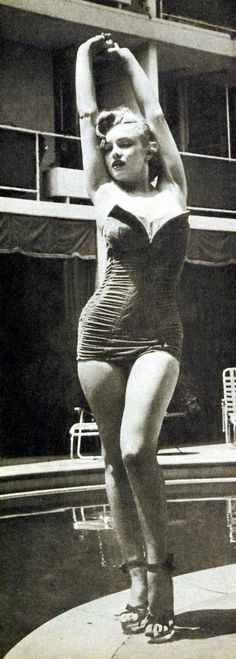 1744581b4c6e3 Marilyn Monroe 1951 Beverly Carlton Hotel Phographer Phil Burchman Carlton  Hotel