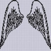 Angel Wings 2 Cross Stitch Pattern - via @Craftsy