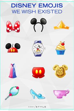 Disney Emojis We Wish Existed