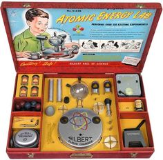 The most dangerous toy ever marketed to kids. Ah, the atomic age....a more carefree time.