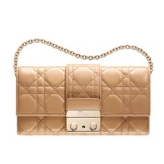 Dior m111 new lock wallet in beige leather The