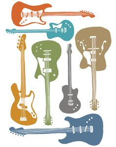 Guitare basse plan de style art print brevet de guitare blueprint guitars artist guitars australia httpkangabulletinonline malvernweather Choice Image