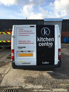 c0451cca5b Partial  van wrap and graphics for Keller Kitchen Centre. Partial  wrap  with a