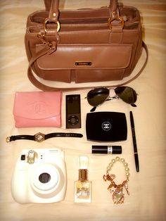 I love the bag and watch.