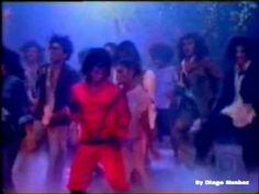 """Os Trapalhões fazem satira do clip """"TRILLER"""" de Michael Jackson (1984)"""