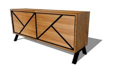 Contemporary Sideboard - 3D Warehouse