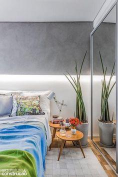 Revista Arquitetura e Construção - Apartamento de 79 m² bem iluminado e colorido nos detalhes