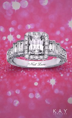 Neil Lane Bridal – designed to make her feel like a star! Kay Jewelers Engagement Rings, Dream Engagement Rings, Perfect Engagement Ring, Diamond Wedding Rings, Wedding Ring Bands, Solitaire Rings, Diamond Rings, Bling Wedding, Dream Wedding