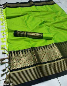 Sarees Drishya Cotton Silk Jari Saree   *Fabric* Saree -  Cotton Silk, Blouse - Cotton Silk  *Size* Saree Length - 5.5 Mtr, Blouse Length - 0.8 Mtr  *Work * Jari  Work  *Sizes Available* Free Size *   Catalog Rating: ★4 (401)  Catalog Name: Hrishita Drishya Cotton Silk Jari Saree CatalogID_130067 C74-SC1004 Code: 136-1064663-