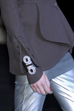 Karl Lagerfeld at Paris Fashion Week Fall 2010 - Details Runway Photos