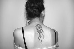 """Dreamcatcher Tattoo. maybe down side instead. """"And as you dream. so shall you become."""" **"""