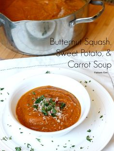 belle vie - Butternut Squash, Sweet Potato, and Carrot Soup - belle vie