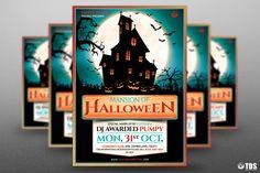 Halloween Flyer Template V.20