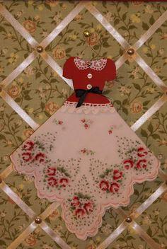 handkerchief crafts Vintage