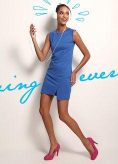 Sheggy Arkası fermuarlı elbise Markafoni'de 54,99 TL yerine 19,99 TL! Satın almak için: http://www.markafoni.com/product/3520362/