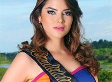 La exreina de Manta, Eliana Molina Alarcón, vuelve a los reinados de belleza, en esta ocasión para representar a Manabí en el concurso Miss Ecuador 2013.