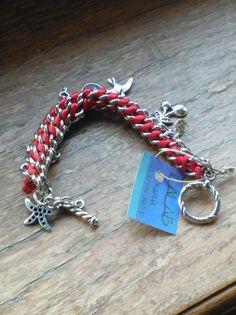 bracciale a catena intrecciato #handmade #bijoux #gift