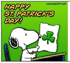 Happy St. Patrick's Day! Thanks Holidays