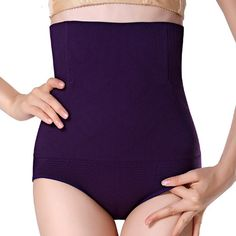 16de68a333caf Women Seamless Shapers High Waist Slimming Tummy Control Pants Pantie Briefs  Magic Body Shapers Corset Lady Underwear